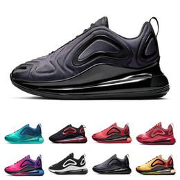 chaussure stephen curry blue Promotion Nike air max 720 Vente chaude 2019 TPU Air Coussin Chaussures pour Hommes Femmes Designer Chaussure Zapatillas Hombre 2019 Brerthable Extérieur Sneakers Taille 36-45