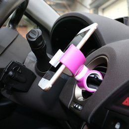 Çok fonksiyonlu Araba Hava Firar Direksiyon Maount Tutucu Standı Bisiklet GidonBar iPhone GPS Cep Telefonu TH0269 için Montaj Tutucu Cradle nereden