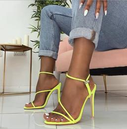 f8f3ab1ff3982b YX GIRL Metallic Strappy Sandals Argent Coloré Plateforme Sandales  Gladiator Femmes Talons Hauts Chaussures D'été style Livraison gratuite  plate-forme de ...
