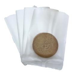 2019 biscuit sac en plastique emballage alimentaire Translucide Matte Plastic Packaging Sacs alimentaires Biscuit bonbons casse-croûte Biscuits Sac main Savon alimentaire sacs d'emballage de fruits sec Sac Stroge biscuit sac en plastique emballage alimentaire pas cher