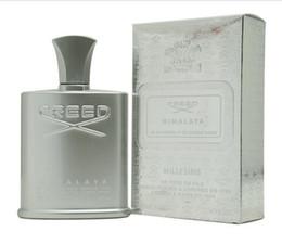 2019 dekorierte plastikflaschen Freies Verschiffen Creed Himalaya Millesime-Parfüm für Männer natürlicher Duft 120ml langlebiges Einzelteil 120ml