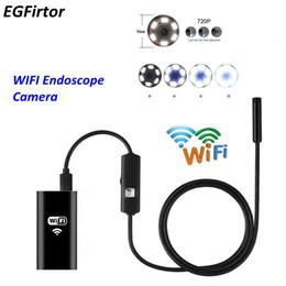 Fabrika Fiyat WIFI Endoskop Kamera Mini Su Geçirmez Yumuşak Kablo Muayene Kamera Için 8mm USB Şarjlı Endoskop Android Endoskop telefon nereden torbalama standı tedarikçiler