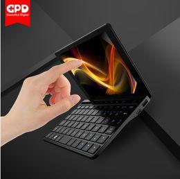 новые сенсорные ноутбуки Скидка Новый GPD Pocket 2 8GB Янтарный 7-дюймовый сенсорный экран Мини-ПК Карманный ноутбук Ultrabook Intel Celeron CPU 3965Y Windows 10 Система 8GB / 128GB Gaming PC