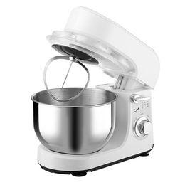 Macchine per pane online-BEIJAMEI Nuovo 5-velocità Cucina Food Stand Mixer Cream Egg Frullatore Frullatore Cake Dough Bread Mixer Maker Machine