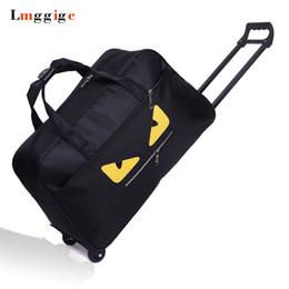 Koffer räder online-Handgepäck-Tasche, tragbarer Koffer, wasserdichtes Oxford-Tuchmonster Reisekoffer Dragboxes, Große Kapazität Handtasche mit Rädern