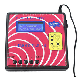 audi elsawin Rebajas Fcarobd Nuevo Contador Digital Remoto Maestro Clave Programador Medidor de Frecuencia Remoto Rodante Remoto Clave Copiadora Controlador Remoto RF