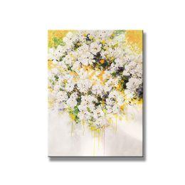Mejores pinturas para el hogar online-decoración de la boda de venta Mejor barato para el hogar pinturas al óleo hechas a mano en la pared de lona arte de la imagen para la sala sin enmarcada