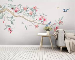 Promotion Nouvelle Peinture Murale De Fleurs   Vente Nouvelle ...
