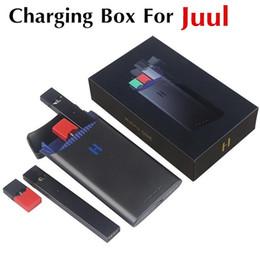 Ручка власти онлайн-2019 оригинальный Hippo ONE power bank для JUUL Vape Pen 1500mAh портативная электронная сигарета зарядные стручки чехол держатель коробка чехол легко вынуть