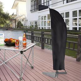 Outdoor Deluxe Patio Parasol Protective Cover Banana Cantilever Strong Oxford UK