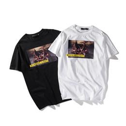 2019 original camisetas 2018 Desastre marítimo Desenhador original SOS T Camisas de Verão para Homens e Mulheres Hip Hop Impresso Manga Curta Tees desconto original camisetas