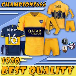 Tailandia Boca Juniors Traje de fútbol + Calcetines Jerseys 19 20 GAGO TEVEZ CARDONA ALIBA Camisetas de jersey de fútbol Boca Junior PAVON camisetas de futbol desde fabricantes