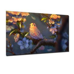 Bonito, obras de arte, 1 peças de lona cópias da arte da parede pintura a óleo de decoração para casa (sem moldura / moldado) de