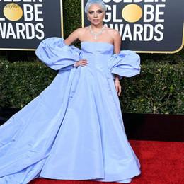 307a54a12fc3 Lavender Evening Dresses for Party A Line Unique Design Evening Celebrity  Gowns gala jurken dames lady gaga vestido de festa longo 2019