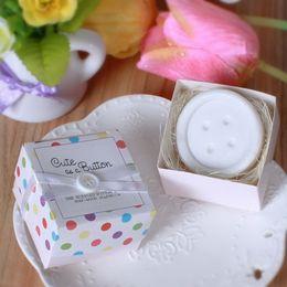Mignon Parfumé Bouton Savon Savon Baby Shower Party Favourites De Mariage Cadeaux Creative Supplies DHL livraison gratuite ? partir de fabricateur