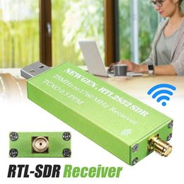 Ricevitore del sintonizzatore usb tv online-Tuner USB Adapter RTL-SDR RTL2832U + R820T2 + 1ppm TCXO TV Stick Receiver