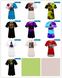 Chaleco online-Hot 10style Apex Legends falda Cospaly Battle Royale Chaleco Top to Game Falda de impresión digital 3D modelos femeninos TB1482-H