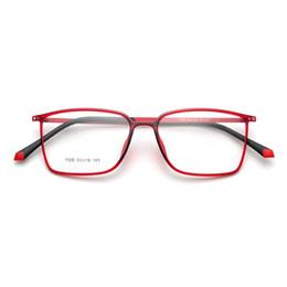 Óculos coreanos on-line-Liga de titânio óculos de armação miopia óculos de prescrição de vidro olho 2018 coreano armações de óculos eyewear