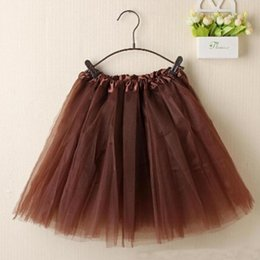 girls tutu layered skirt Promo Codes - Women Ballet Tutu Layered Organza Lace Mini Skirt Not leather Sexy Skirt For Girl lady Short Skater Fashion Mini A1