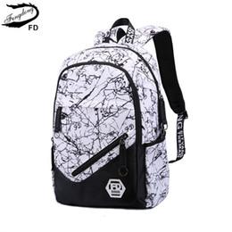 Tecido impermeável para barato on-line-FengDong moda mochila escolar para o adolescente crianças mochila mochila mochilas mochilas mochilas barato tecido à prova d 'água para crianças