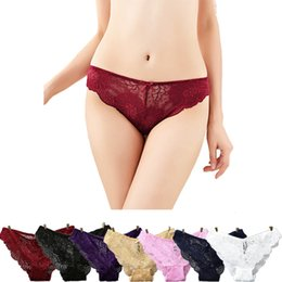 3f94c278254d 3pcs Sexy Lace Women Panties Seamless Underwear Lingerie Low-rise Cotton  Panty Hip Up Tempting Briefs For Women Underpants #C