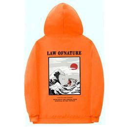 2019 velo de laranja Laranja Hoodies Homens Engraçado Cat Wave Moletom Com Capuz Pulôver de Lazer moda Moletom Com Capuz de Lã Hip Hop Streetwear Moletom Com Capuz Rosa preto velo de laranja barato