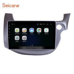 Argentina Estéreo para automóvil Quad-core 10,1 pulgadas con Android 8.1 para HONDA FIT JAZZ RHD 2007-2013 con música WiFi GPS Navi compatible OBD2 Mirror Link cámara trasera Suministro