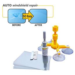 Canada Nouvelle fenêtre de voiture verre fissure puce pare-brise réparation de pare-brise kit de bricolage ensemble de réparation de pare-brise, kit de réparation kit voiture de pare-brise de voiture Offre