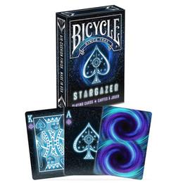 2019 mazos de cartas de bicicleta Bicicleta Stargazer Deck Poker Tamaño Cartas de juego Estándar Tarjetas mágicas Accesorios Primer plano Trucos de magia para profesionales J190427 rebajas mazos de cartas de bicicleta