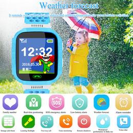C5 Дети Смарт Часы Поддержка Телефон SOS GSM GPRS SMS SIM Камеры дети Сенсорный Экран Smartwatch Браслет для Ios / Android от