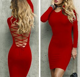 6748db7e20ca1 White Backless Bandage Bodycon Dress Canada | Best Selling White ...