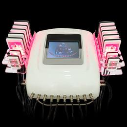 2019 équipement de combustion des graisses corporelles Diode Lipo Laser LipoLaser de laser de perte de poids de laser de Zerona amincissant le remodelage rapide de graisse remodelant la formation de corps (14 palettes de PCs) promotion équipement de combustion des graisses corporelles
