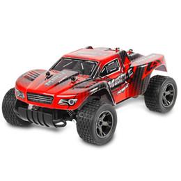 Auto di rc dell'ammortizzatore online-Telecomando Giocattoli Automobili Spped RC Auto 2.4GHz 1:18 RC Car RTR Ammortizzatore PVC Shell Fuoristrada Buggy Veicolo