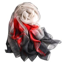 Argentina 2019 invierno mujer bufanda moda impresión de seda bufandas chales y abrigos dama foulard femme diseñador bandana hijabs Suministro