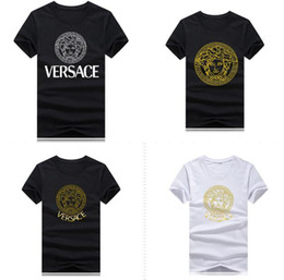 long sleeve polo for women Coupons - Wholesale snake head girl brand fashion tops t shirts for mens women tshirt Greek mythology o neck clothes Short sleeve clothing polo shirts