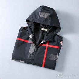 modelli 3d personalizzati Sconti 20FW nuovo lusso mens progettazione giacca modelli personalizzati anatomici giacca manovella riflettente antivento impermeabile doppia cerniera giacca a vento GGGG0