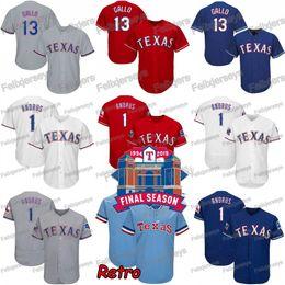camiseta cabrera Rebajas Texas 1 Elvis Andrus Final Temporada Estadio Asdrubal Cabrera Joey Gallo Shin-Soo Choo Rangers Nomar Mazara Delino DeShields Troy Dixon Jersey