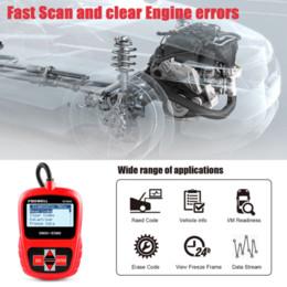 FOXWELL NT200C OBD2 EOBD Automóvil Escáner Motor Código lector Sensor Freeze Frame OBDII Herramienta de diagnóstico Mejor que ELM327 desde fabricantes