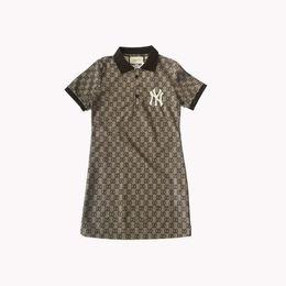 0a43e6578c2de 2019 italien kleider 2019 sommer designer frauen dress marke polo stil  kurzarm casual dress italien luxus