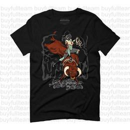 Reiterhemden online-Zombie Bull Rider Homme graphique Herren Schwarz kurzen Ärmeln Tops Mode-Rundhalsausschnitt T Shirt Größe S M L XL 2XL 3XL