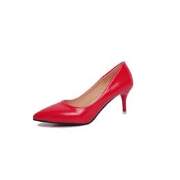 Robe Chaussures Taille 34-39 Nouvelle Mode Pompes Printemps Automne Faite À La Main Mince Talon Haut Bout Pointu Femmes Mode Bureau De Mariage Dames Pompes ? partir de fabricateur