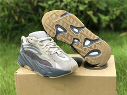 2019 bonne marque de chaussures de sport Nouveau Marque Tephra Runner Designer Homme Chaussures De Sport Confortable Kanye West Femme Mode Sport Sneakers Bonne Qualité Navire Avec Double Box bonne marque de chaussures de sport pas cher