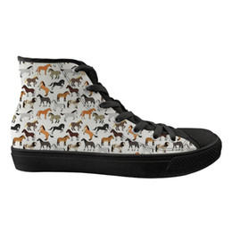 2019 maßgeschneiderte schnürsenkel Kundengebundene hohe Spitzenfrauen-Ebenen-Segeltuch-Schuhe Crazy Horse Fashion Design schnüren sich oben Damen-beiläufige Turnschuh-Schuh-Frauen-flache Zapatos rabatt maßgeschneiderte schnürsenkel
