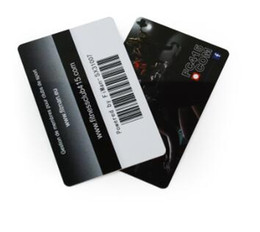 En gros taille de carte de crédit polychrome personnalisé pvc en plastique code à barres fitness cartes d'adhésion fitness, carte PVC pas cher ? partir de fabricateur