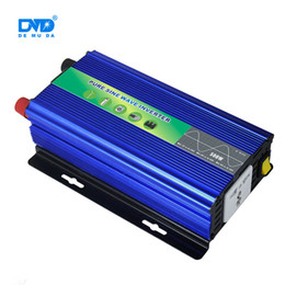 12v чистый инвертор синусоидальной волны Скидка Высокий чистый инвертор постоянного тока в переменный ток автомобиля инвертор синусоида 500 Вт 12 В 220 В