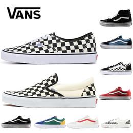 39f9485e118 2019 chaussures de club pour homme Pas cher Original Vans Fear Of God  classique Hommes Femmes