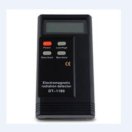 """Телефонные детекторы онлайн-Тестер электромагнитного излучения DT-1180 детектор излучения 2.3 """"ЖК-дисплей Высокочастотный / Низкочастотный бытовой техники детектор излучения мобильного телефона"""