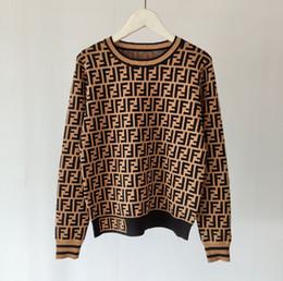 2019 suéter de ganchillo suelto verano suéter de la mujer nueva O-cuello de 2020 del resorte de la manga larga tops jersey de lana jersey de señora de la oficina de la manera OL camisa que hace punto los géneros de punto