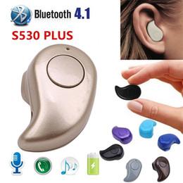 fones de ouvido chineses de qualidade Desconto S530 mini fone de ouvido sem fio bluetooth fone de ouvido estéreo fone de ouvido para iphone / samsung o.31