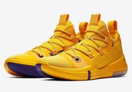 Свободные детские баскетбольные туфли онлайн-2019 Новый Кобе объявление исход на продажу бесплатная доставка Кобе A. D Мамба дети мужчины баскетбольная обувь